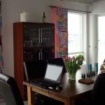 Nya gardiner till matrummet