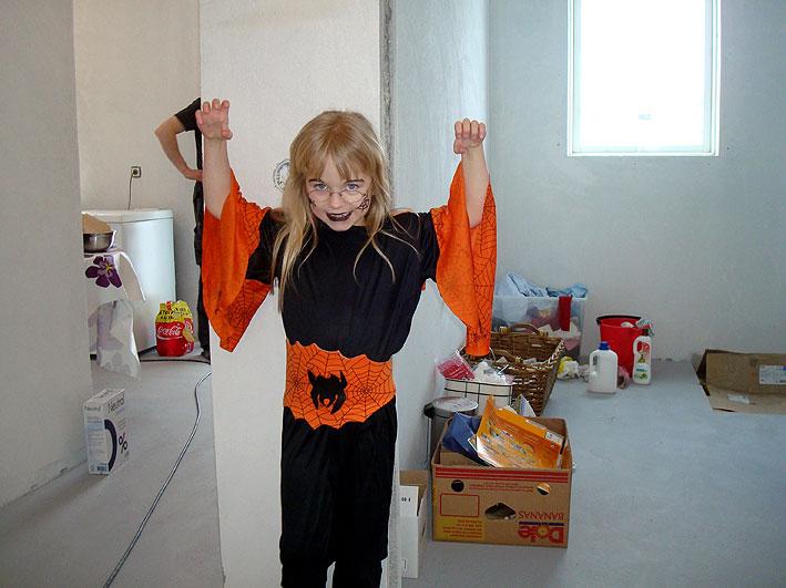 Läskiga spidergirl