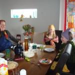Erika, Idunn och Andrea
