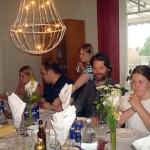 Gästerna till bords