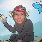 Karin blev en apa
